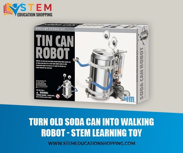 4M Tin Can robot stem learning toy: