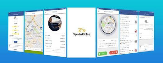 SpotnRides - Uber Clone Solution
