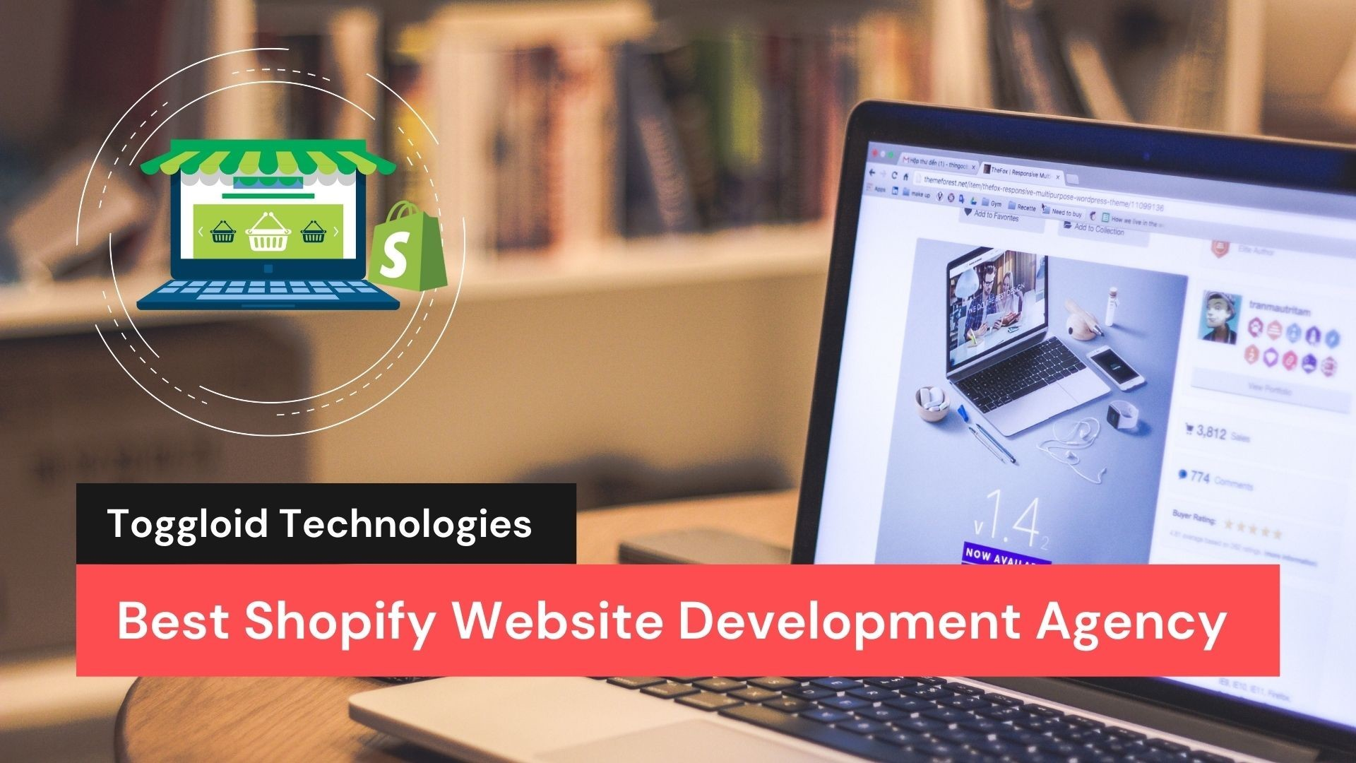 Best Shopify Website Development Agency - Toggloid Technologies