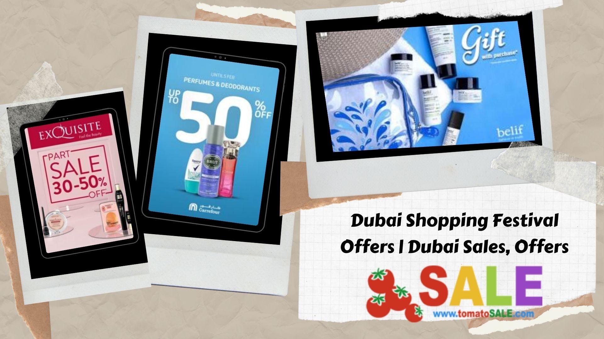Dubai Shopping Festival Offers