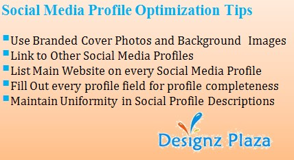 Tips - Social Media Profile Optimization