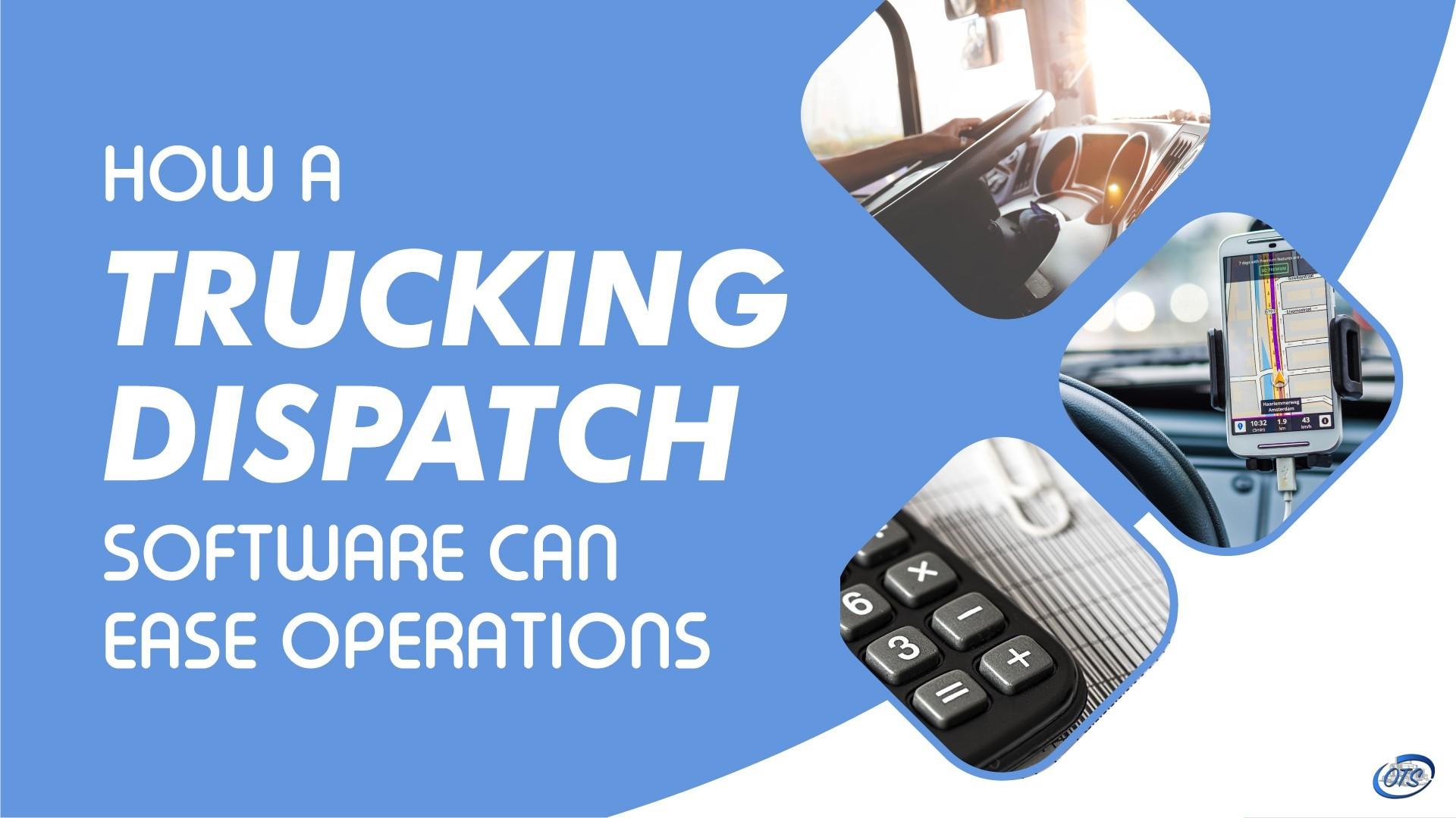 truck dispatch software
