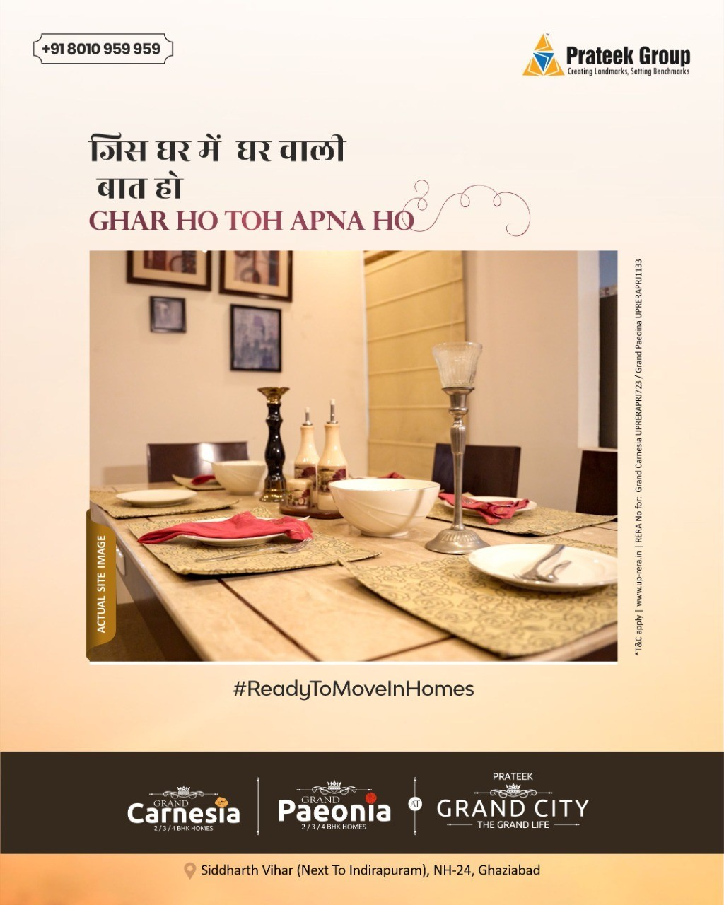 3 BHK apartments in Noida for sale | Best property in Noida