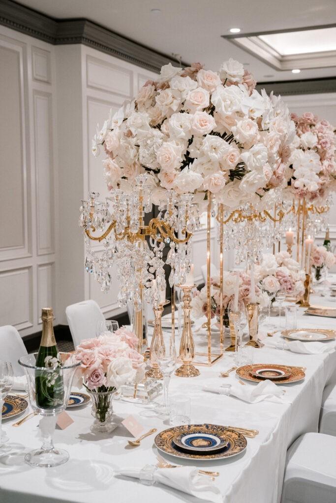 Versace Dinnerware - Tablewear - Gold Cutlery Hire
