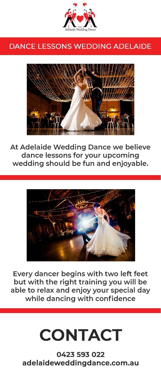Dance Lessons Wedding Adelaide