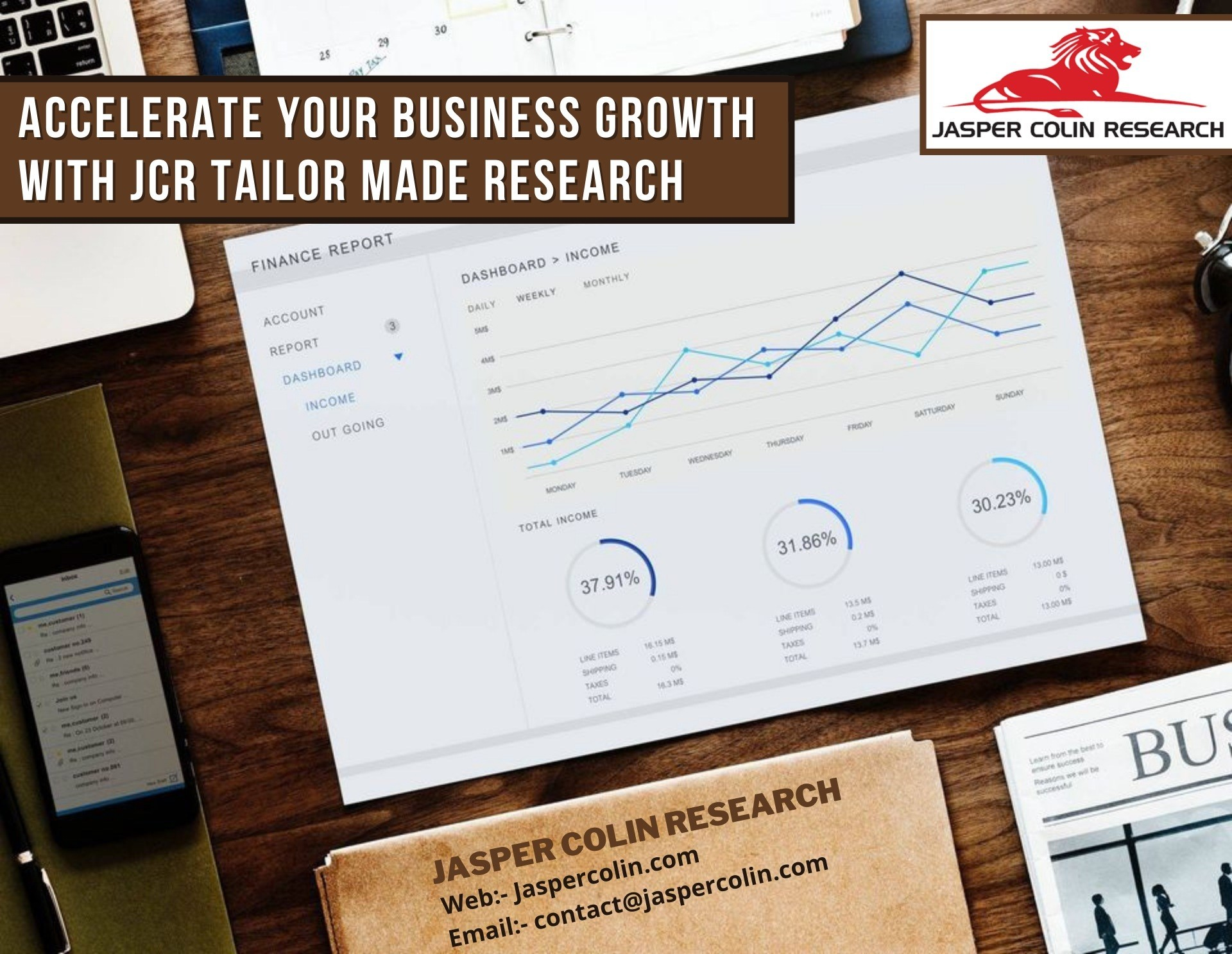 Tailor-made Business Research to Grow your Brand