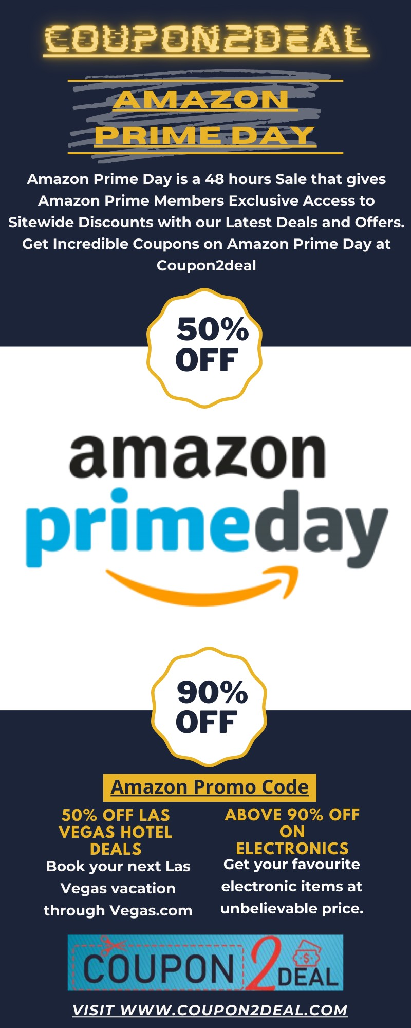 Celebrate Amazon Prime Day With Coupon2deal