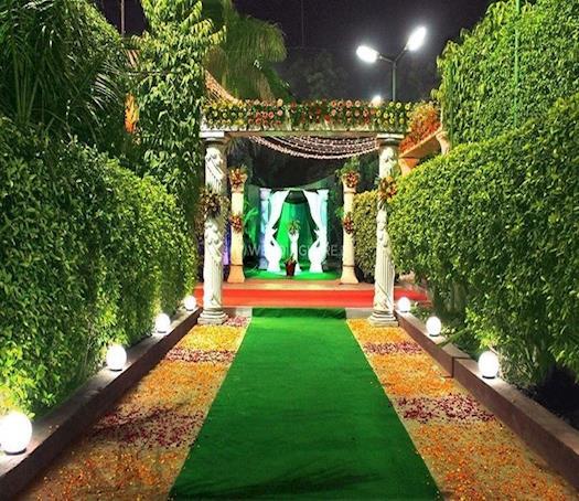 Entrance at Gokul Garden