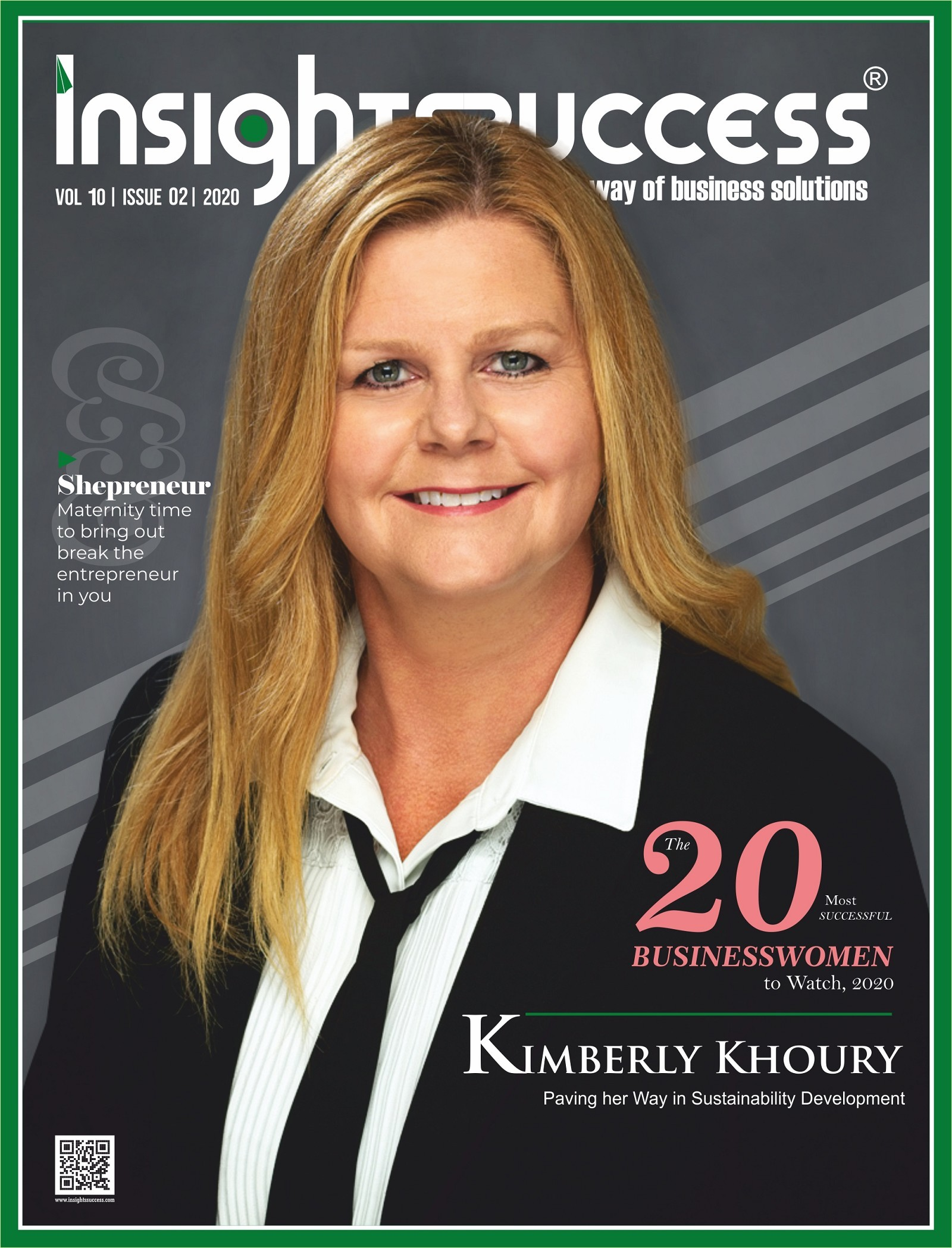 Kimberly Khoury: Paving her Way in Sustainability Development