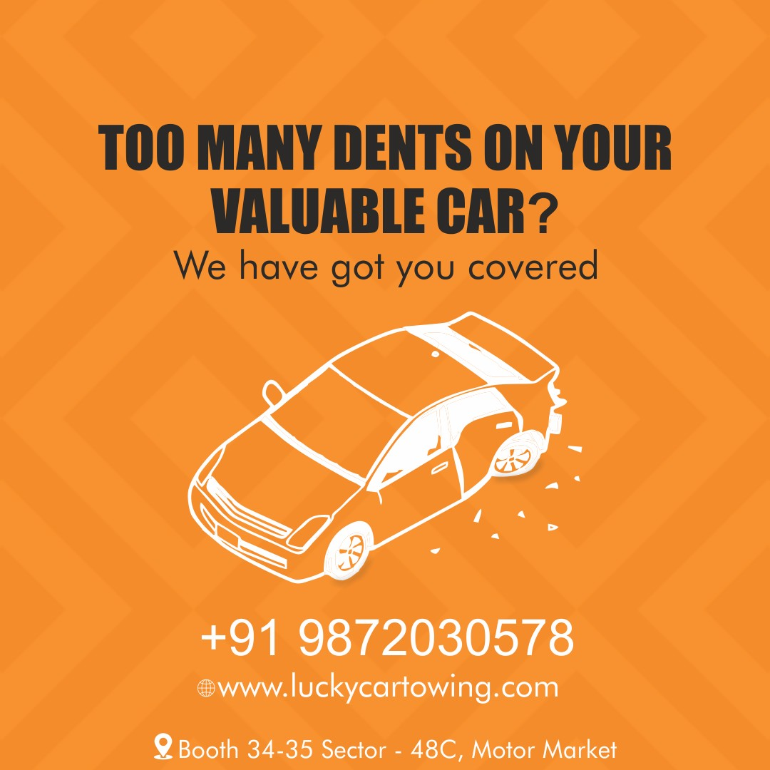 Lucky car towing and repair services in chandigarh