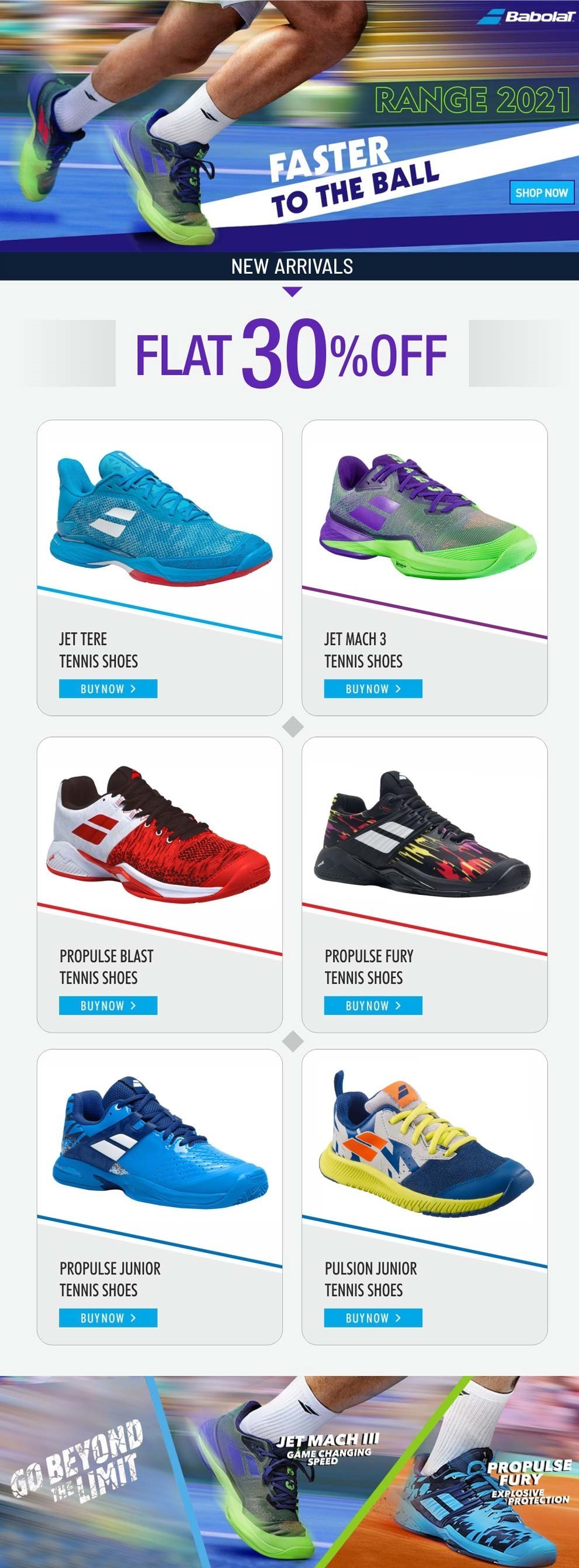 Looking for Babolat Tennis Shoes that can help in dominating court?