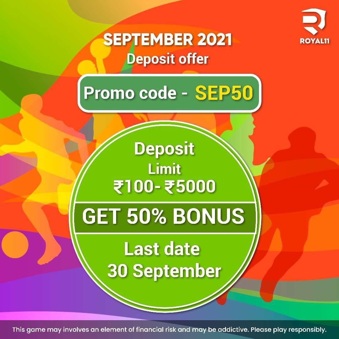 SEP 2021 Deposit Offer – Grab it Now!