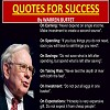 Warren Buffet's Quotes For Success