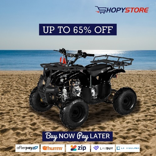 Quad bike for sale at shopystore buy now and pay later