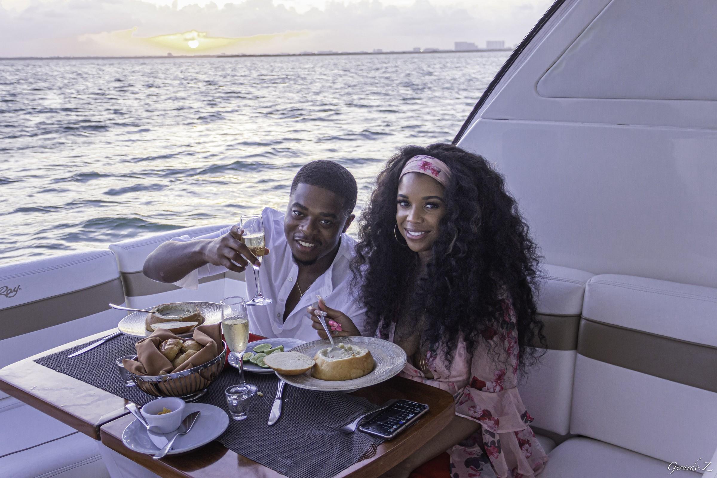 Luxury Yacht Dinner
