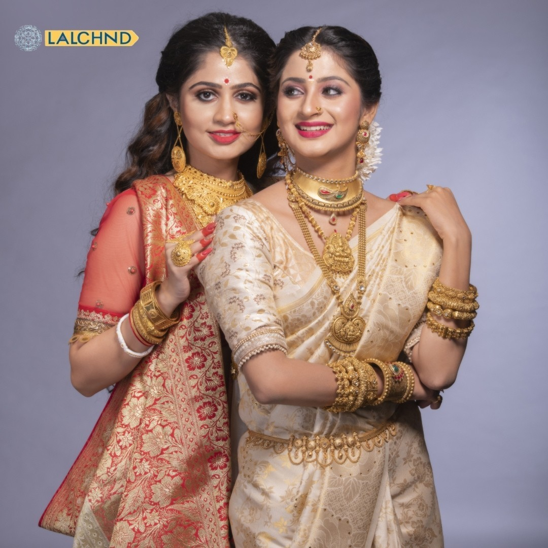 Bridal Gold Jewellery Sets Online | Lalchnd Jewelers