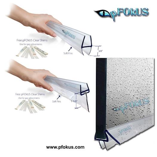 Shower Sweeps - Frameless Shower Door Sweep