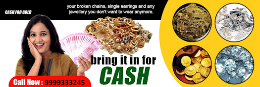 Just Call and Get Cash for Gold in Delhi NCR 9999333245