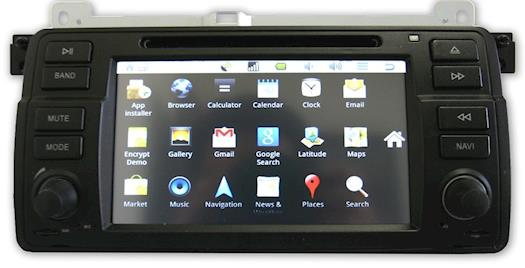 BMW E46 Dynavin D99 Android 98-04
