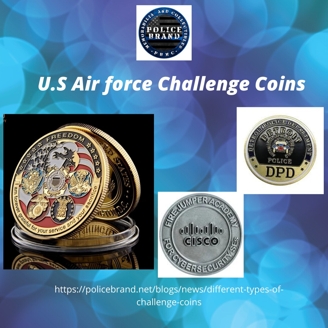 U.S Air force Challenge Coins