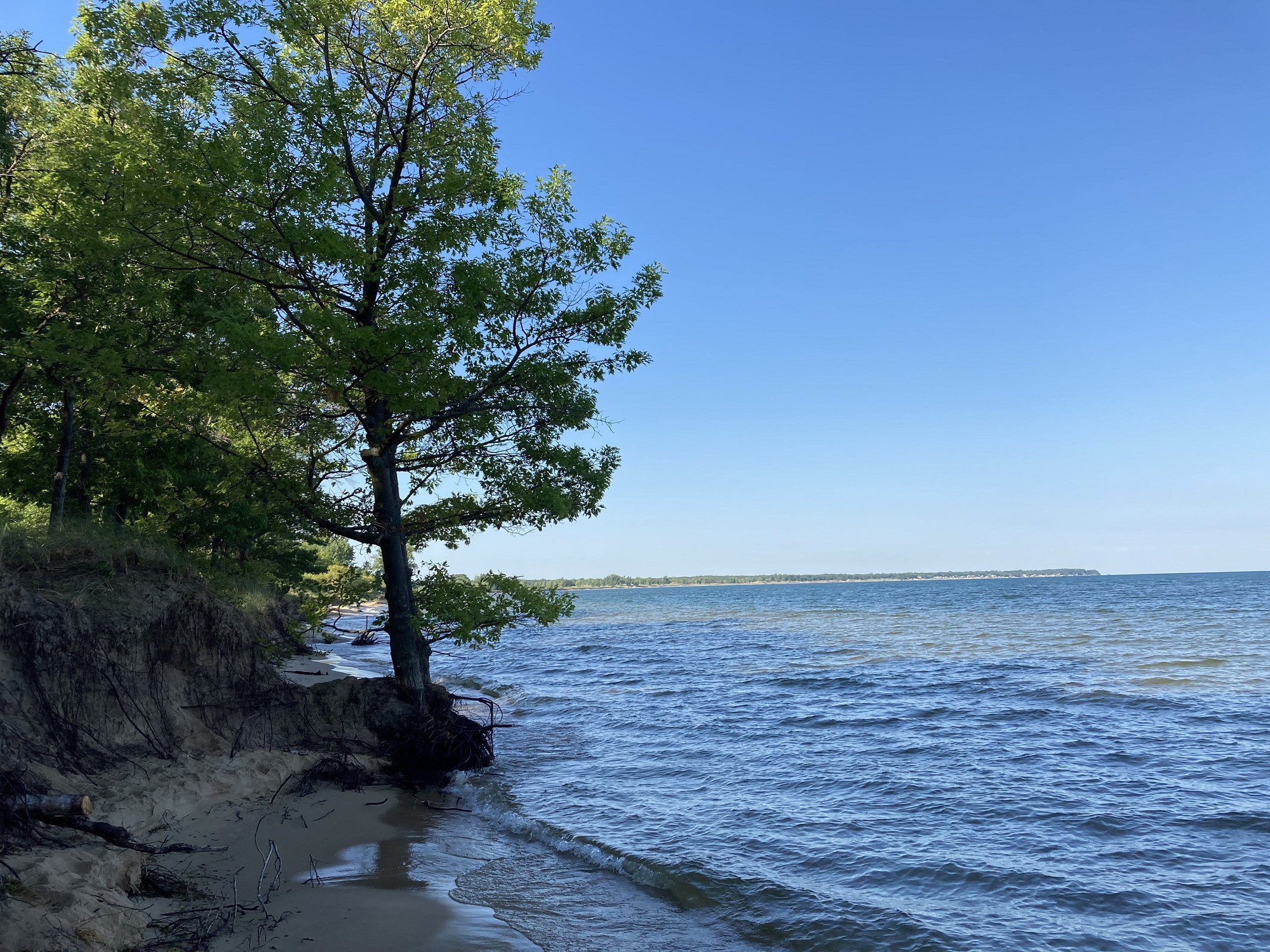 Camp Beach at Port Crescent State Park