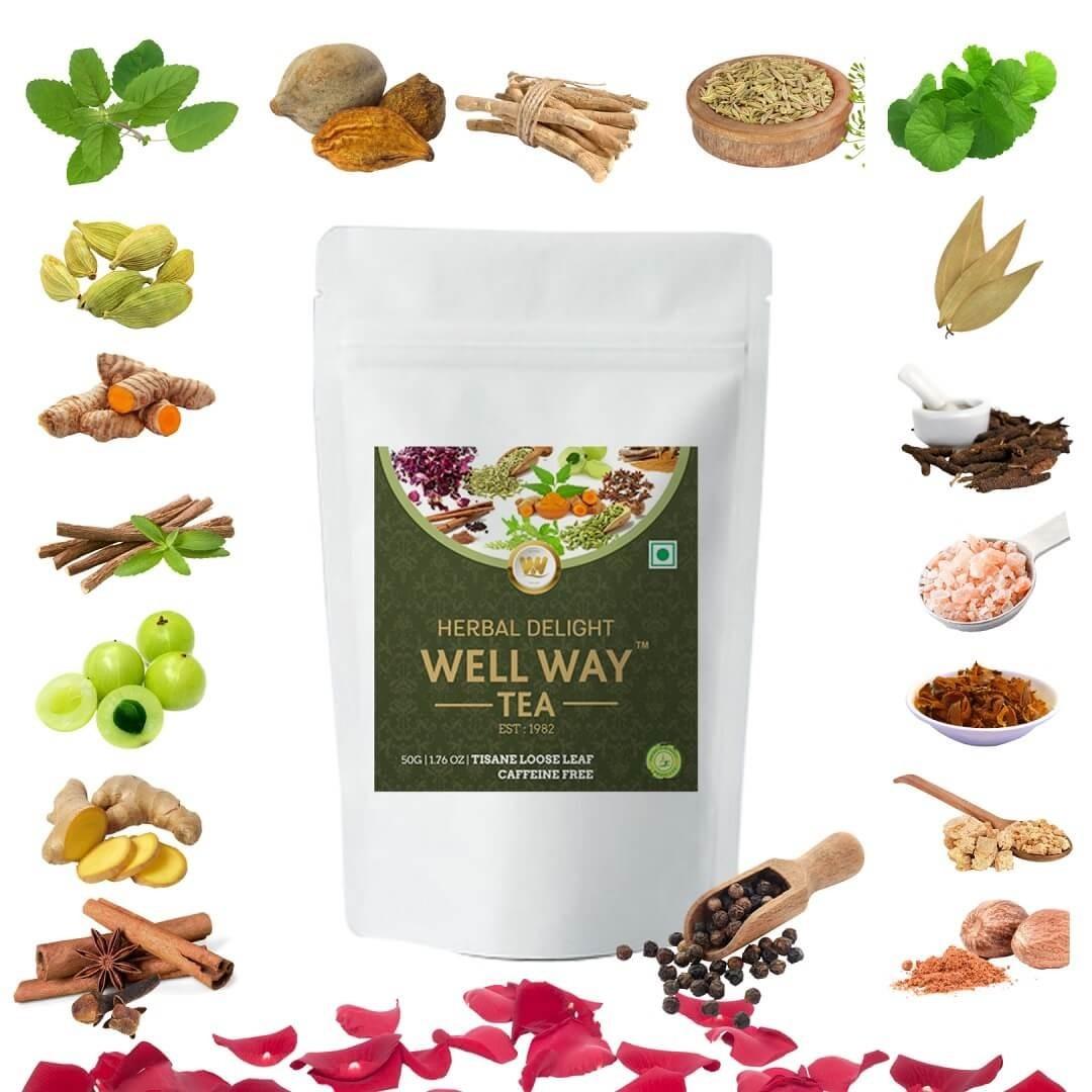 Buy Herbal Tea Online in India   Herbal Tea   wellwaytea