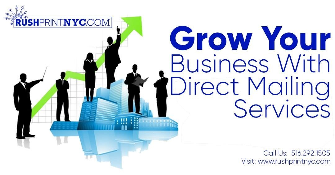 Grow your business with direct mailing service