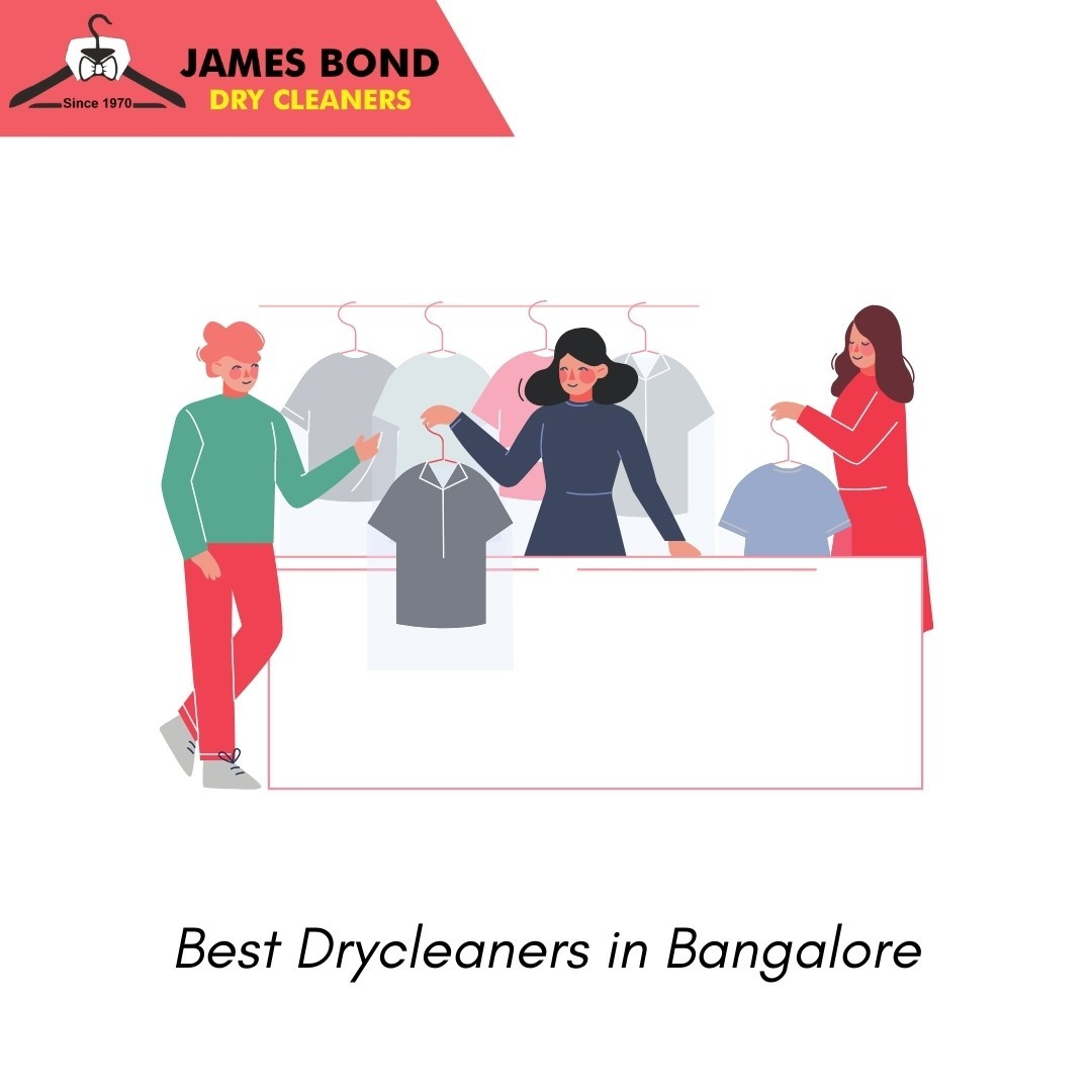 Best Dry Cleaners in Bangalore | James Bond Dry Cleaners