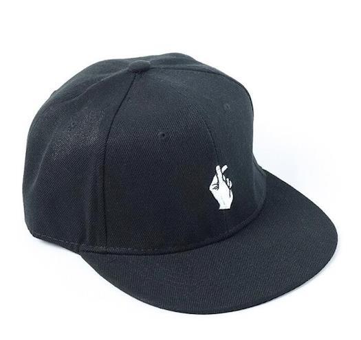Unisex Finger HipHop Flat Bill Snapbacks Baseball Dad Hats Caps