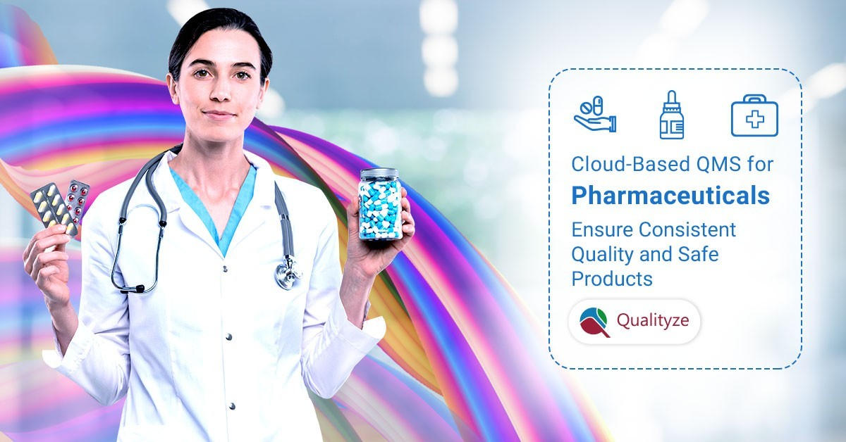 Quality management system for pharmaceutical industry
