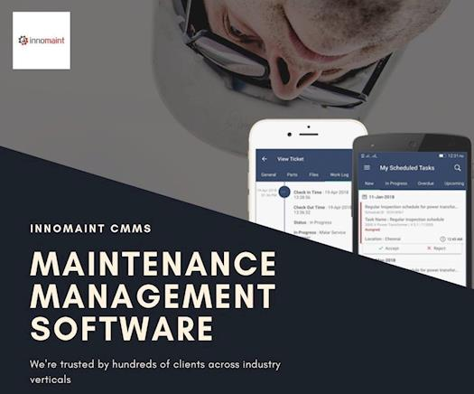 Innomaint CMMS - Maintenance Management Software