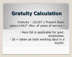 Should Gratuity be Discontinued
