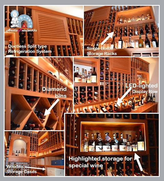 Irvine Home Wine Cellar California