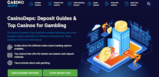 CasinoDeps Top Casinos for Gambling