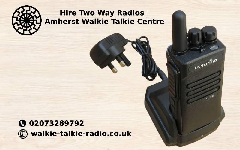 Two Way Radio Hire