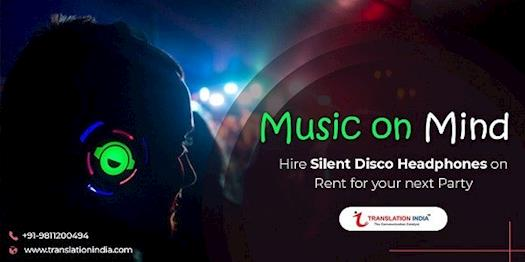 silent party headphones