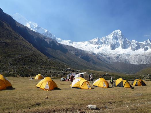 Peruvian Mountains treks Cordillera Blanca Climbing