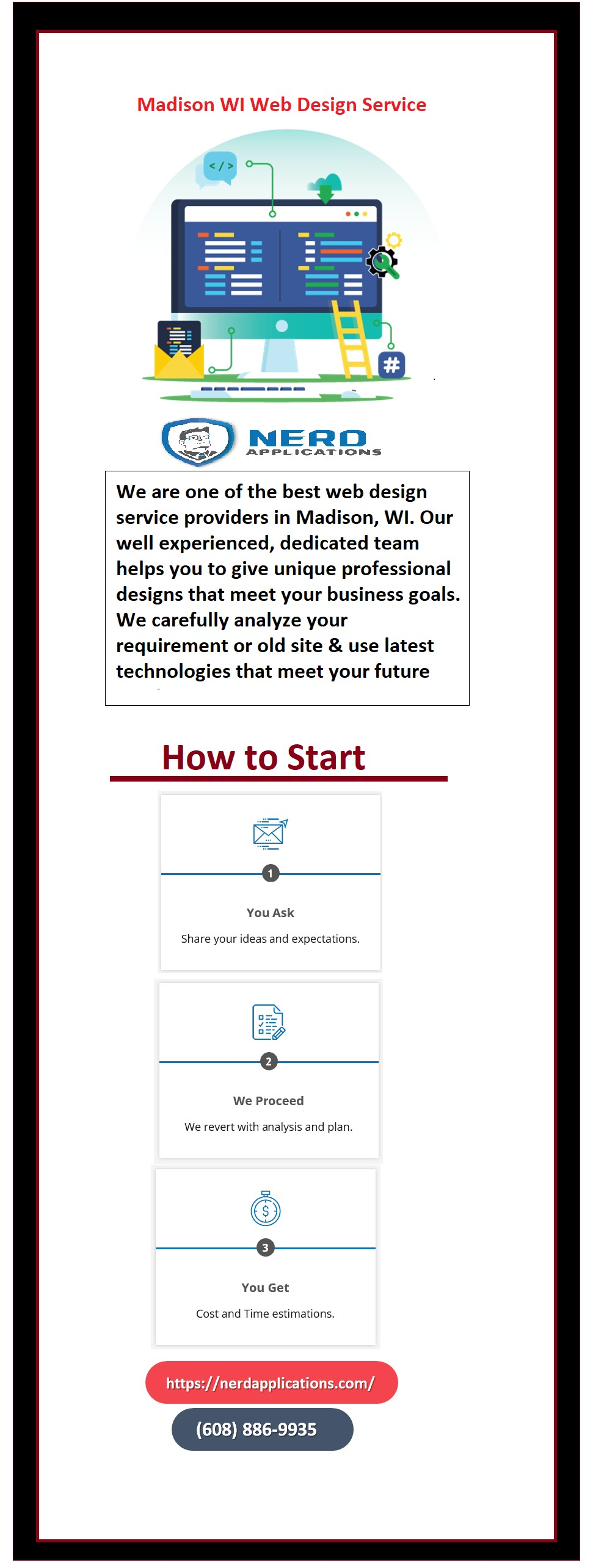 Web Design Services in Madison, Wisconsin