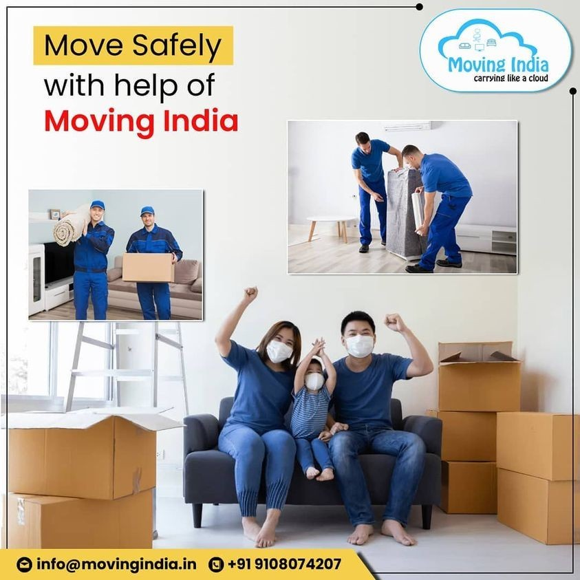 Move safely with help of Moving India