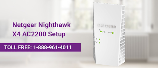 how to setup netgear nighthawk x4 ac2200?