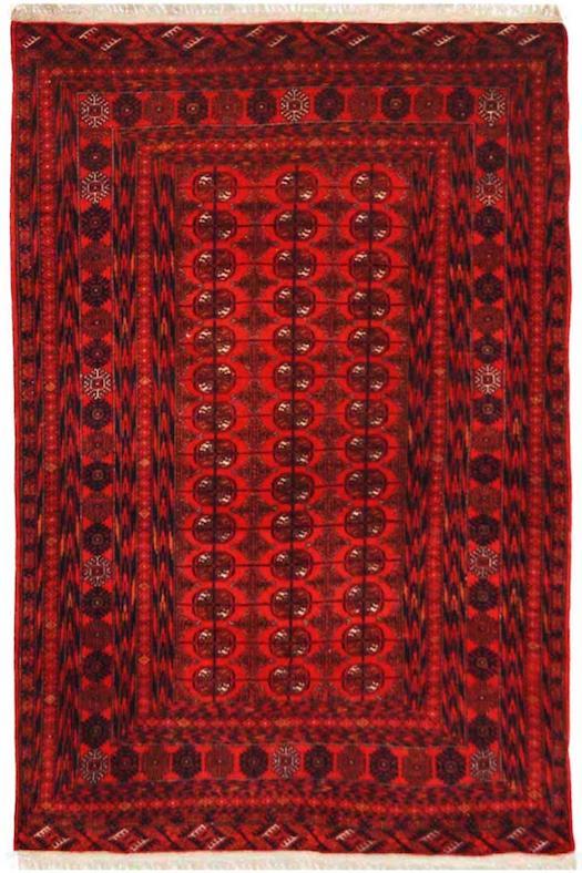 Afghan Bokhara Area carpet and Rug