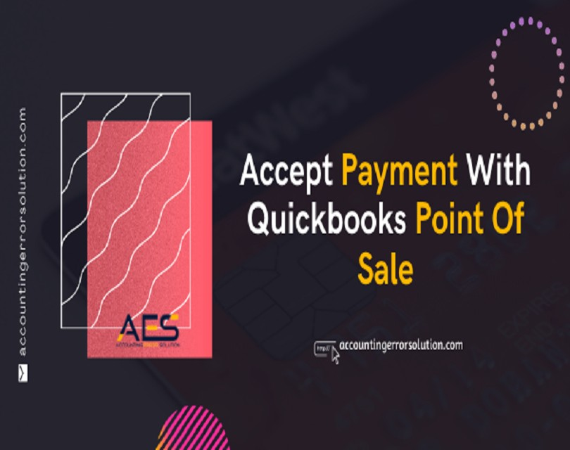 How can you accept Payment with QuickBooks point of sale?