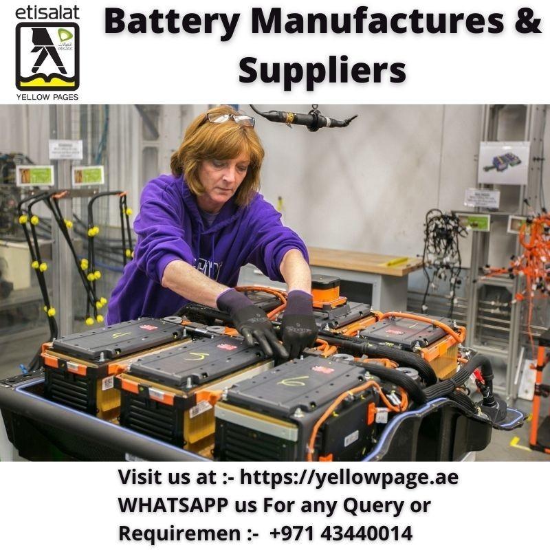 Battery Suppliers in Dubai UAE