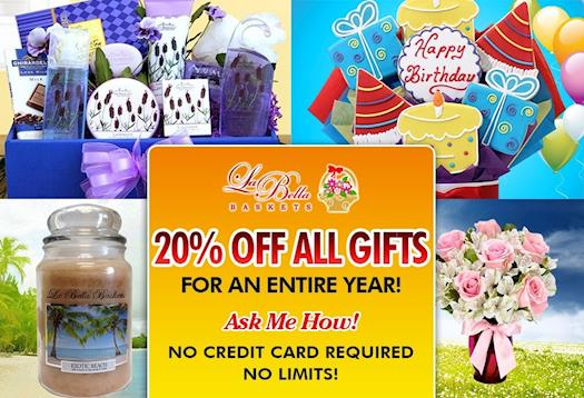 Gifts ~ FREE Annual Membership!