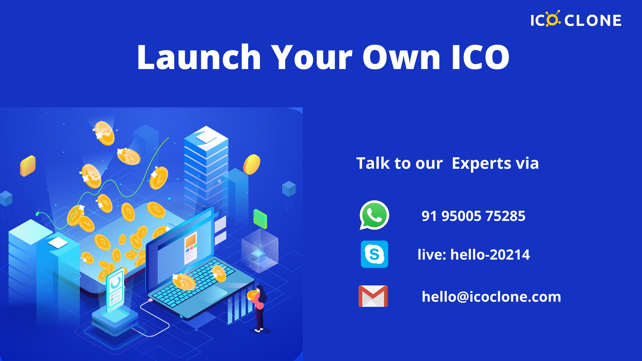 Launch Your own ICO