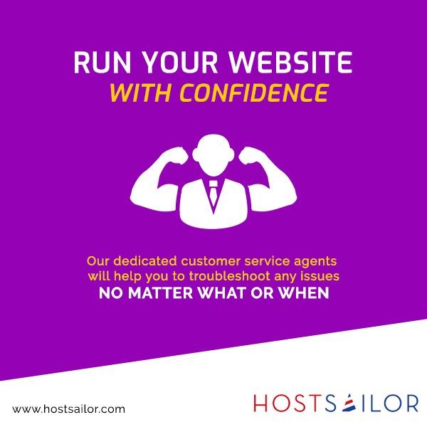Dedicated Customer Support   Shared Hosting Providers   Hostsailor