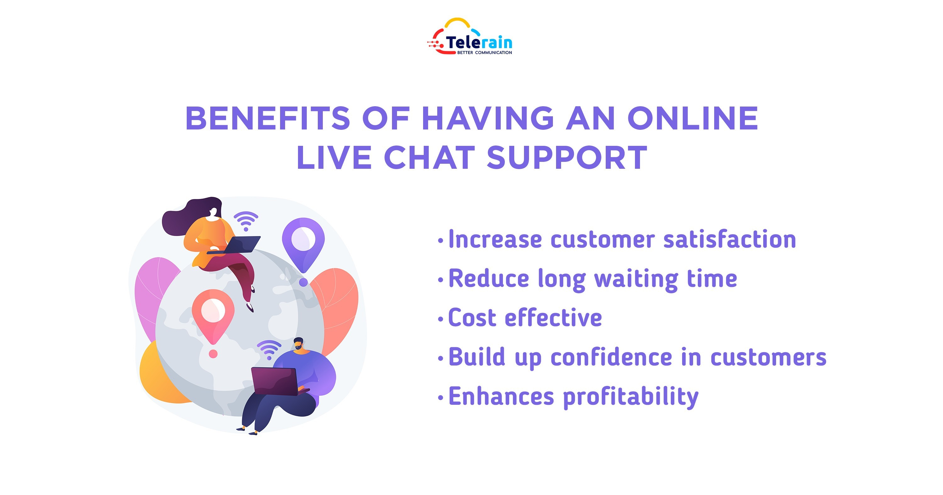 Benefits of having an online live chat support