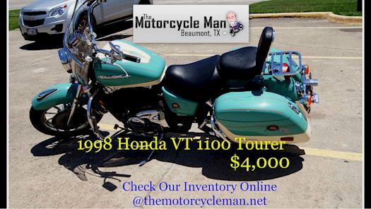 Honda 1998 VT1100 Tourer, only $4,000