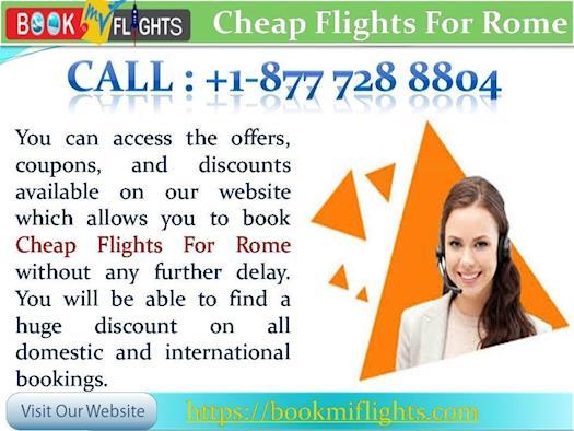 Cheap Flights from Atlanta to Rome - Get Upto 40% Off