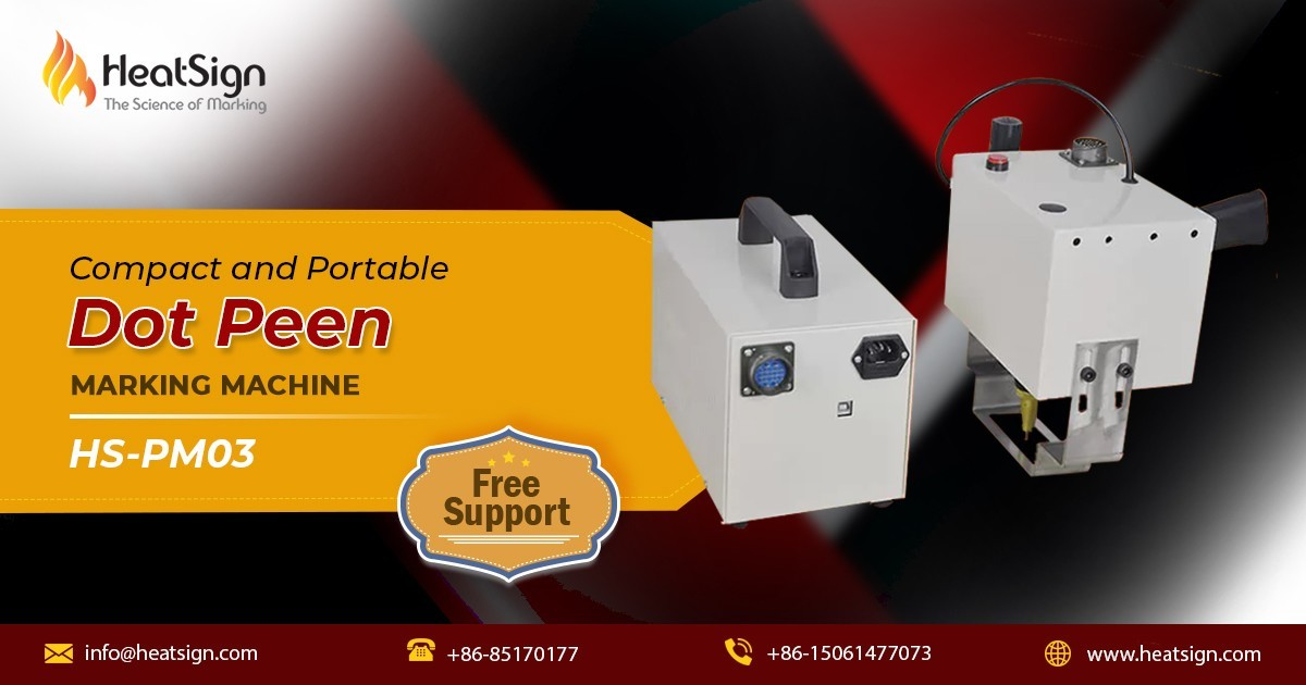 Looking For Reliable Dot Peen Marking Machine for Sale at HeatSign